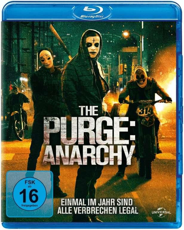 The Purge 2 - Anarchy (Blu-ray) für 4,12€ inkl. Versand (statt 8€)