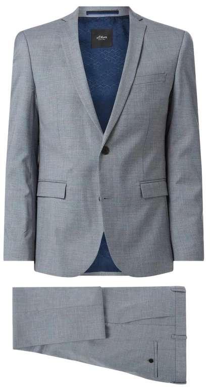 """s.Oliver Slim Fit Anzug mit 2-Knopf-Sakko Modell """"So Pure"""" für 152,99€ inkl. Versand (statt 180€)"""