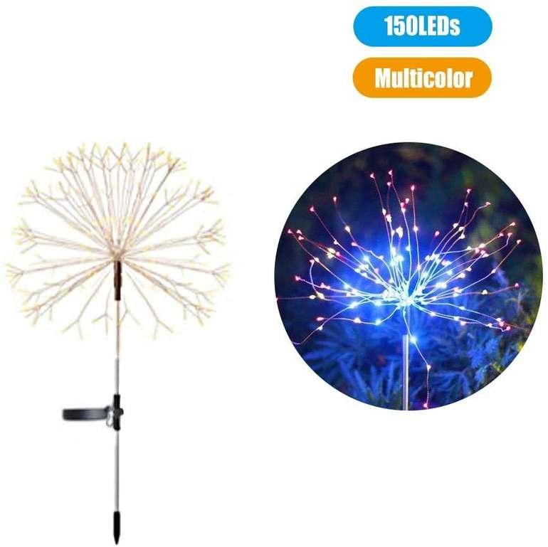 """Walmeck LED Solar Stableuchte """"Feuerwerk"""" für 9,99€ inkl. Versand (statt 13€)"""