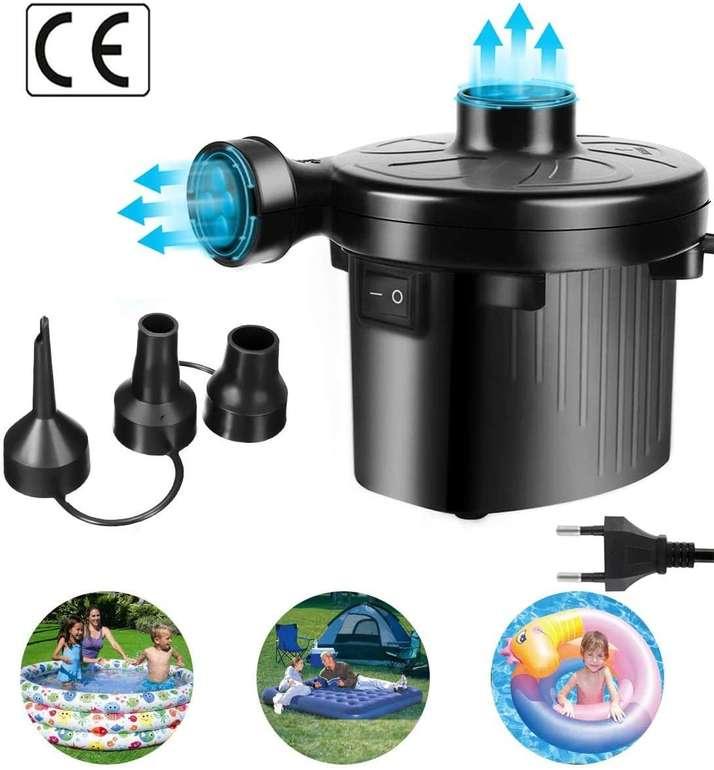 GoChange Elektrische Luftpumpe zum Auf- und Abpumpen für 7,19€ inkl. Prime Versand (statt 12€)