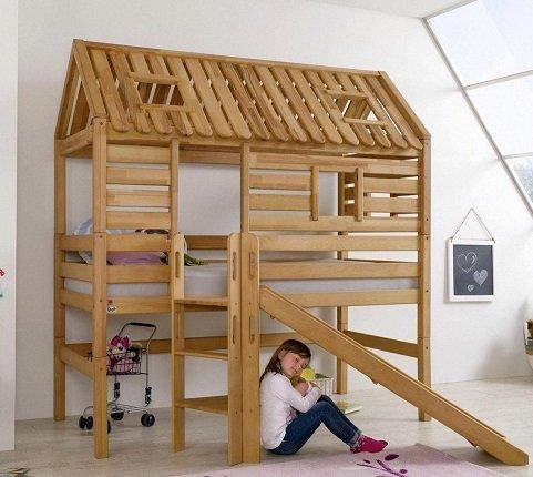 Relita Kinderbett Eliyas + Tom's Holzhütte für 829,94€ inkl. VSK (statt 1.000€)