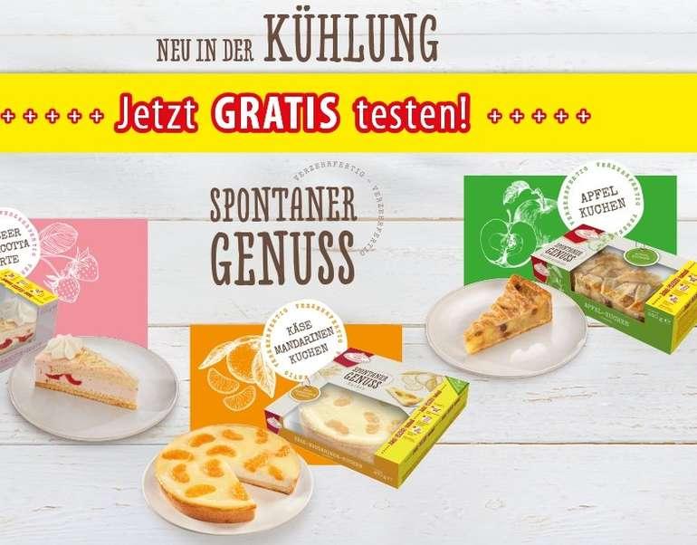 Coppenrath & Wiese Spontaner Genuss Kuchen bzw. Torten gratis testen durch Geld-zurück-Garantie (GzG)