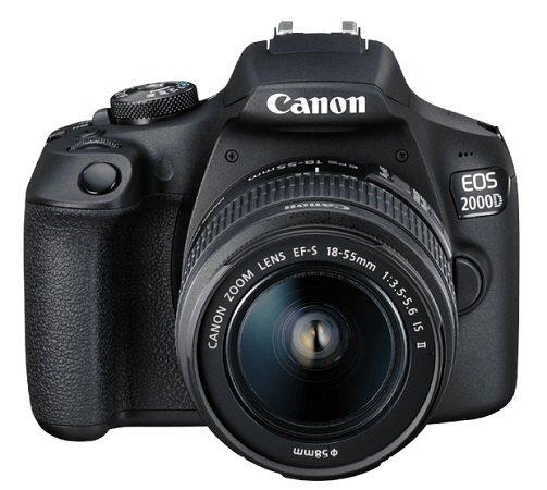 Canon EOS 2000D Spiegelreflexkamera inkl. Objektiv 18-55mm für 269€ (statt 321€)