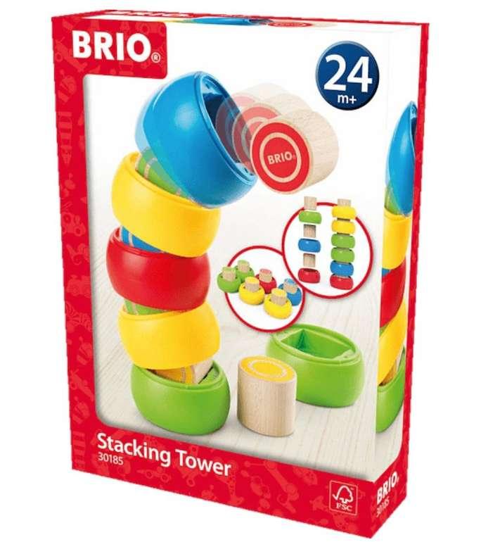 """Media Markt Spielzeug Abvermarktung """"Alles muss raus"""" - z.B. Brio Motorik-Stapelturm für 11,99€ (statt 19€)"""