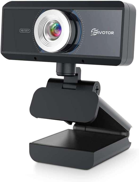 Eivotor 720P Webcam mit Mikrofon für 9,49€ inkl. Prime Versand (statt 19€)