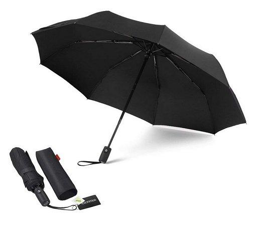Esonmus - Automatik Regenschirm für nur 9,59€ inkl. VSK mit Prime