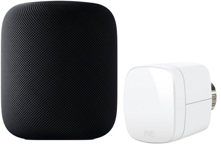 Apple HomePod Smart Speaker + EVE Thermostat für 309€ inkl. Versand (statt 339€)