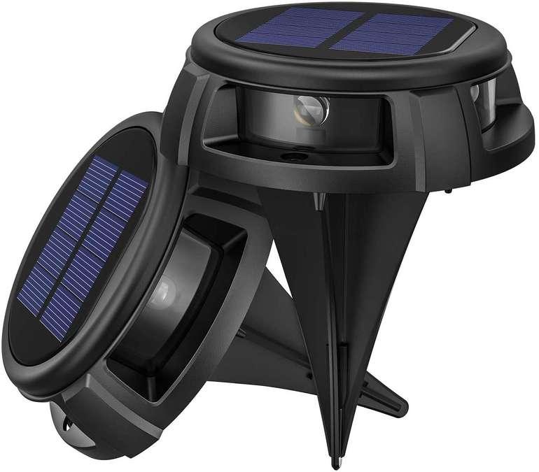 Litom Solar Bodenleuchten für Außen (2 Stück) für 9,99€ inkl. Prime Versand (statt 19€)