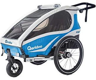 Qeridoo KidGoo 1 Kinderfahrradanhänger für 272,99€ inkl. Versand (statt 318€)