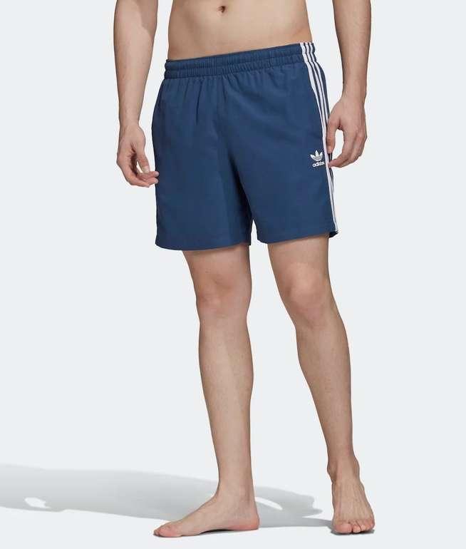Adidas Originals 3-Streifen Herren Badeshorts für 23,85€ inkl. Versand (statt 30€) - Creators Club anmelden!