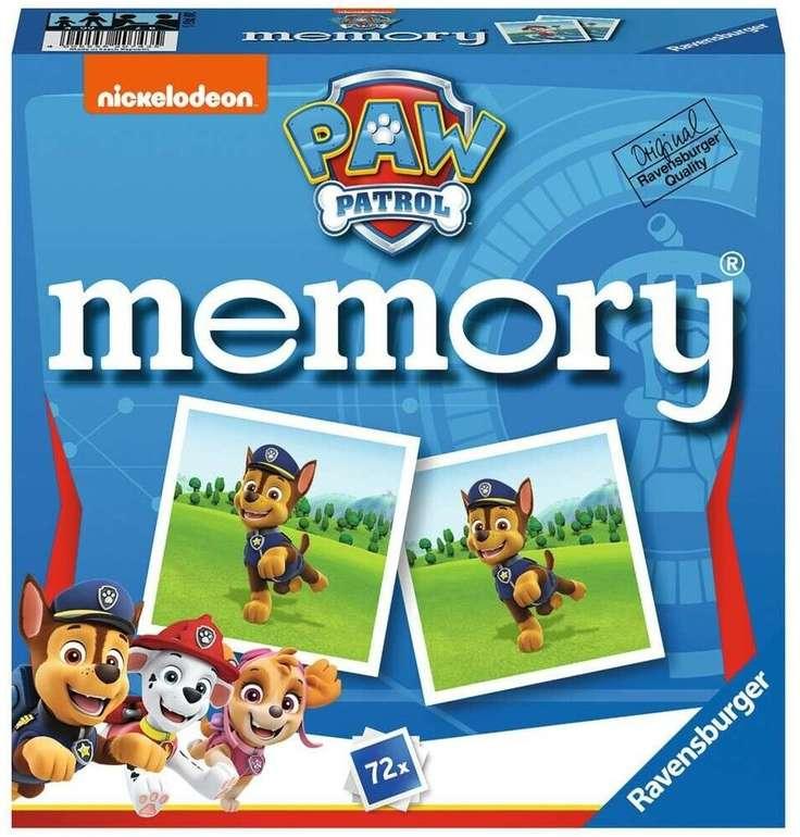 Ravensburger - Paw Patrol Memory (20743) für 2-8 Spieler für 10,79€ inkl. Prime Versand (statt 17€)