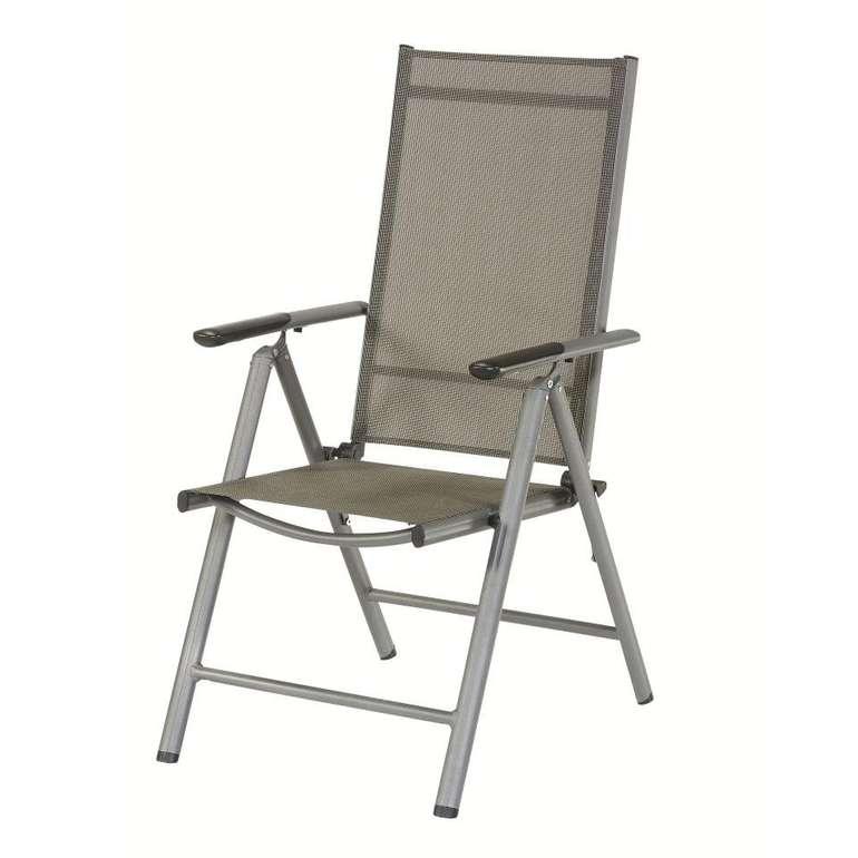 Gartenstuhl New Mexico (7 Positionen) aus Aluminium für 30€ (statt 40€)