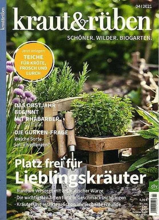 """Jahresabo """"Kraut & Rüben"""" für 71,80€ + z.B. 35€ Bestchoice Gutschein"""