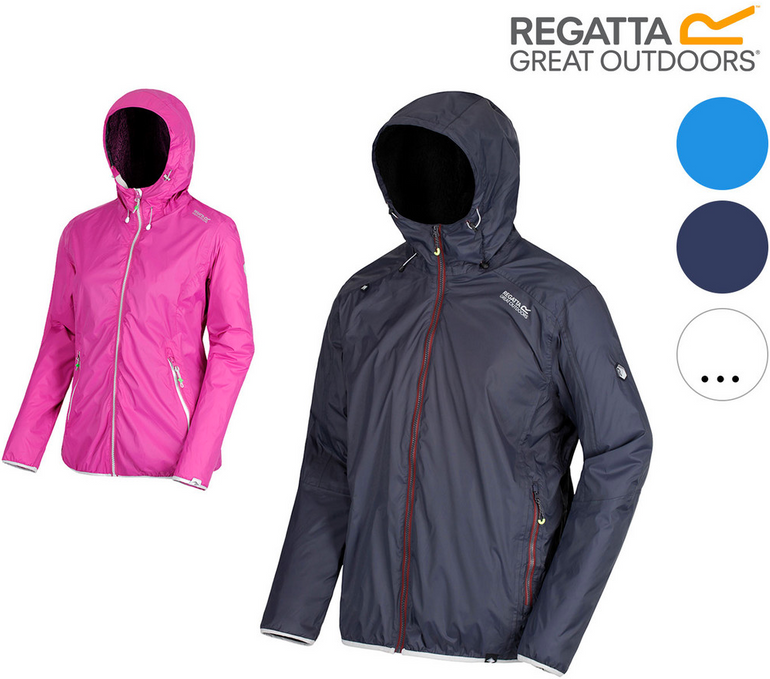 "Regatta ""Tarren"" Herren/Damen Regenjacke für 35,90€ inkl. Versand (statt 50€)"
