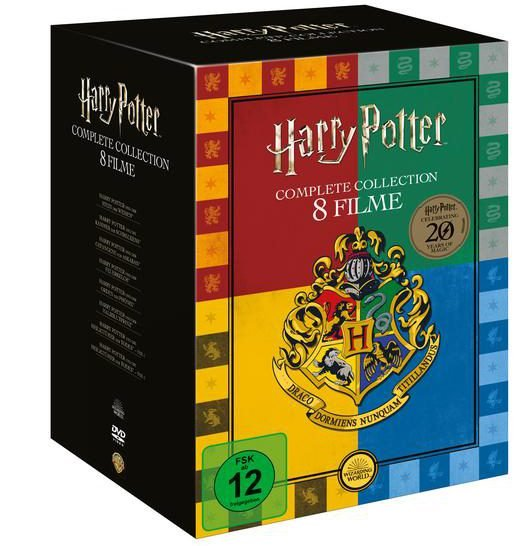 Harry Potter Collection (Buchhandels-Edition) für 24,89€ inkl. VSK (statt 30€)