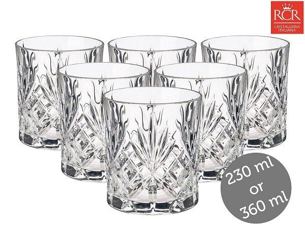 6er Set RCR Melodia Whiskeygläser für 17,90€ inkl. VSK (Highballgläser +3€)
