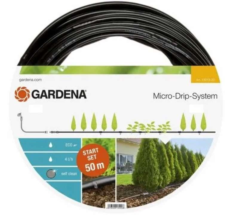 Gardena Micro-Drip System Start Set Pflanzenreihe L (13013-20) für 43,42€ inkl. Versand (statt 48€)