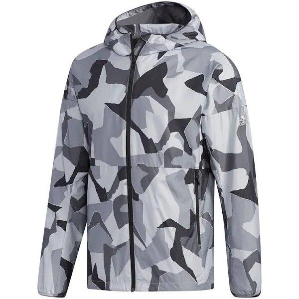 Adidas Kapuzenjacke Camo Ling für 52,95€ inkl. Versand (statt 60€)