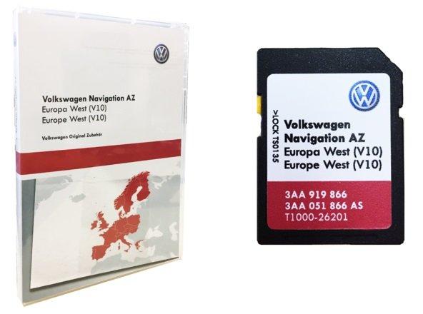 Volkswagen RNS 315 Westeuropa Deutschland V10 Navigation…