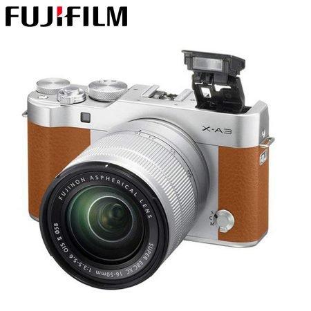 Fujifilm Systemkamera X-A3 XC Kit mit 16-50mm Objektiv für 285,90€ inkl. VSK