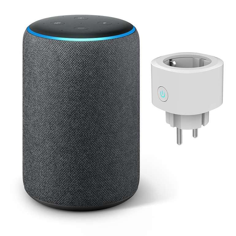 Amazon Echo Plus (2. Gen) in 2 Farben mit smarter Steckdose für 110,93€ inkl. Versand