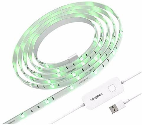Koogeek 2m LED-Streifen mit WLAN (Apple HomeKit & Alexa tauglich) für 23,99€