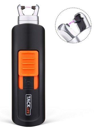 Tacklife - ElY03 Lichtbogen Feuerzeug mit USB Aufladung für 4,99€
