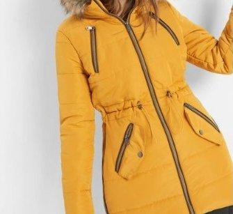Orsay: 20% Rabatt auf Jacken & Mäntel, z.B. Steppjacke mit Kapuze für 66,94€