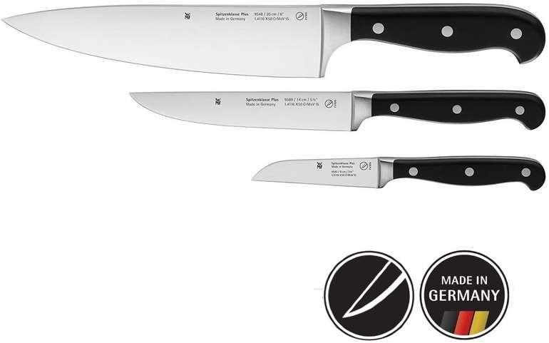 WMF 3-teiliges Messerset Spitzenklasse Plus (1894919992) für 63,99€ inkl. Versand (statt 89€)