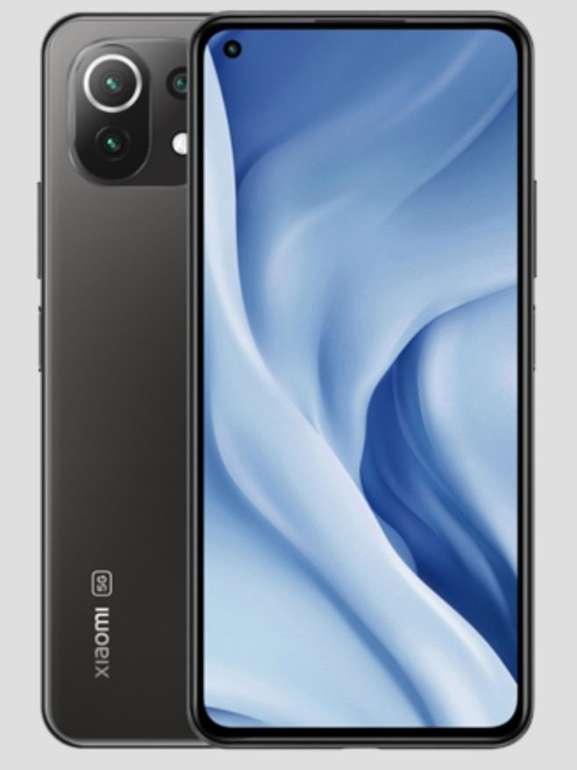 "Xiaomi Mi 11 Lite 5G - 6,55"" Smartphone (8GB RAM, 128GB Speicher, FHD+ 90Hz AMOLED, NFC, Dual-SIM) für 330,48€"