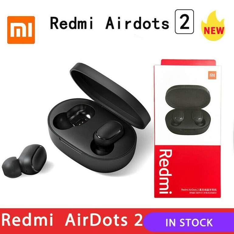 Xiaomi Redmi AirDots 2 (Bluetooth 5.0, In-Ears) für 9,99€ inkl. Versand (statt 27€)