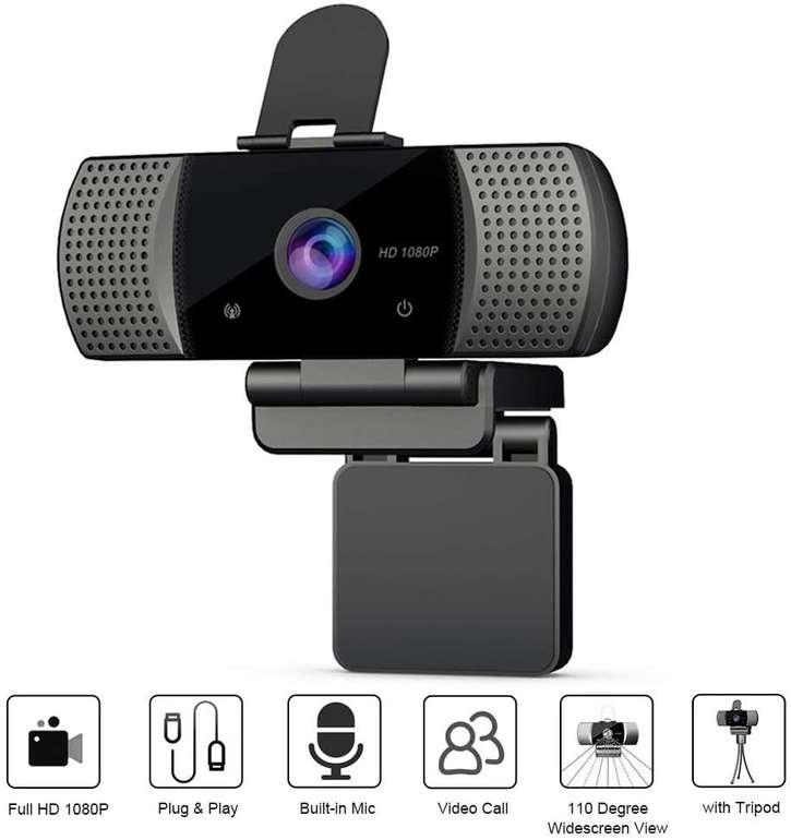 Docooler 1080P USB Webcam mit Mikrofon für 21,99€ inkl. Versand (statt 42€)