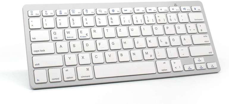 Langtu Bluetooth Ultra Slim Tastatur für 14,39€ inkl. Prime Versand (statt 24€)