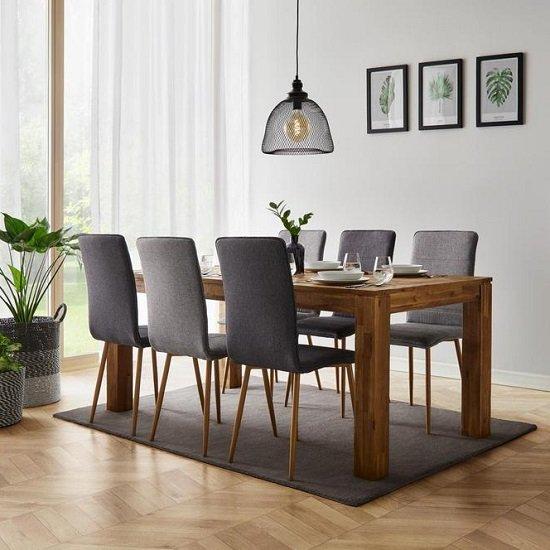 30% Rabatt auf ausgewählte Möbel im Mömax Online Shop, z.B. Esstisch Henry 180x90cm für 139,30€