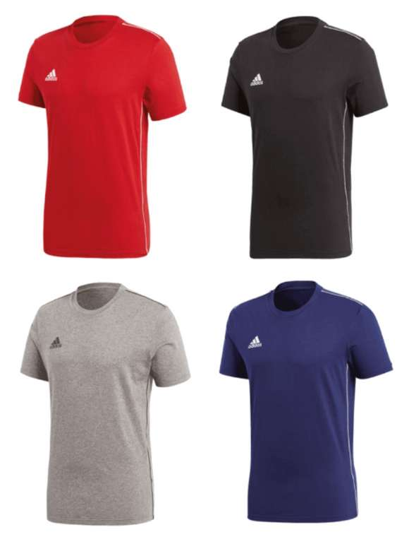 3er Pack adidas Shirt Core 18 Tee für 33,95€ inkl. Versand (statt 39€)