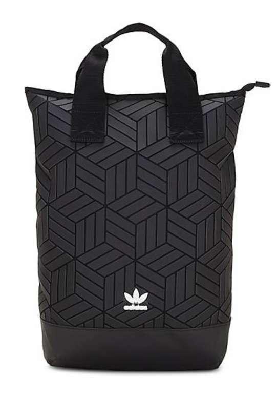 Adidas Originals Rucksack ROLL TOP 3D in schwarz für 49,95€ inkl. Versand (statt 75€)