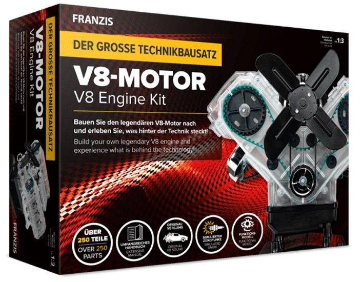 Franzis Lernpaket V8-Motor 3