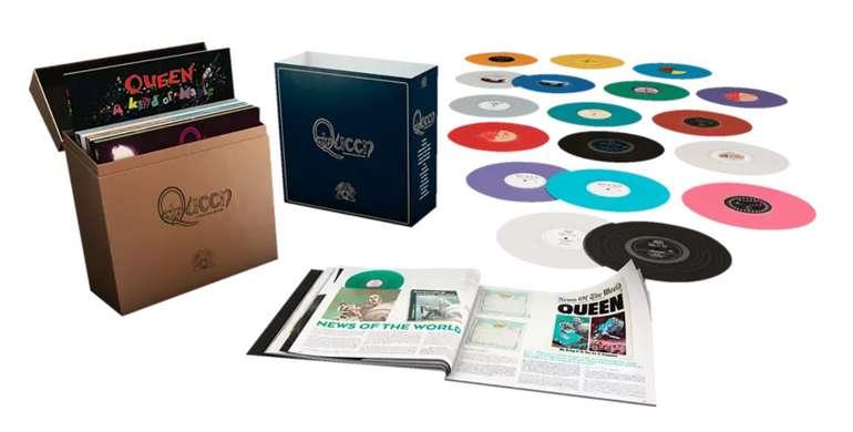 Queen - Complete Studio Album LP Col. LTD Coloured LP-Box für 279,99€inkl. Versand (statt 399€)