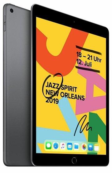 Apple iPad 10,2 (2019) mit WiFi + 128GB Speicher für 405,90€ (statt 428€)