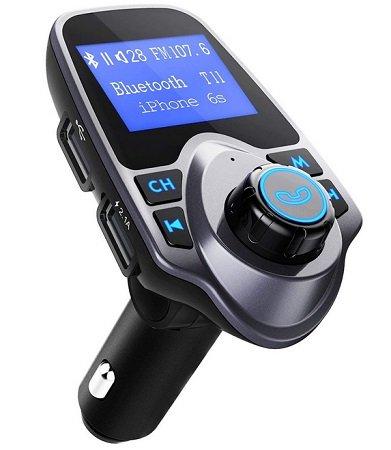 Omorc - Bluetooth FM Transmitter mit USB Anschluss & SD-Karten Slot für 11,99€