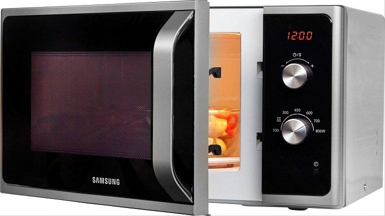 Samsung MS23F300EES Mikrowelle mit 23 Liter für 87,94€ (statt 115€)