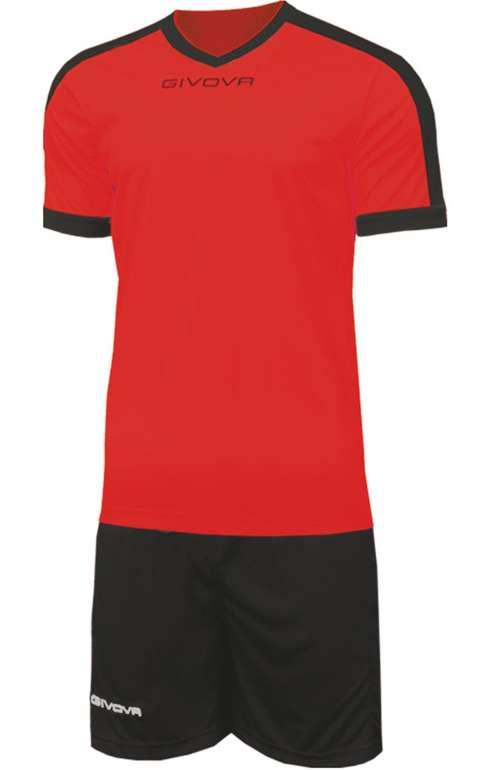 Givova Kit Revolution Fußball Trikot mit Shorts (vers. Farben) zu je 12,94€ inkl. Versand (statt 18€)