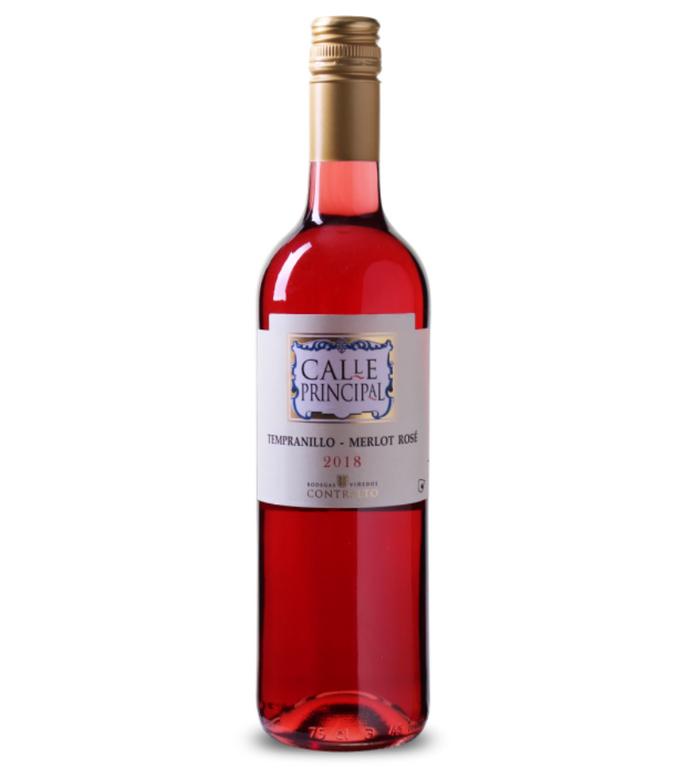 12 Fl. Calle Principal - Tempranillo-Merlot Rosé Vino de la Tierra Castilla 40€