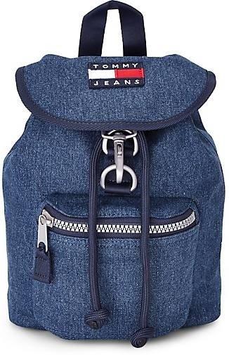 Tommy Jeans Heritage Rucksack in Blau für 55,22€ inkl. Versand (statt 74€)