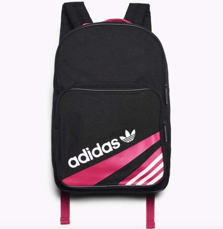 Adidas Originals Classic Backpack in schwarz/pink für 16,90€ inkl. Versand