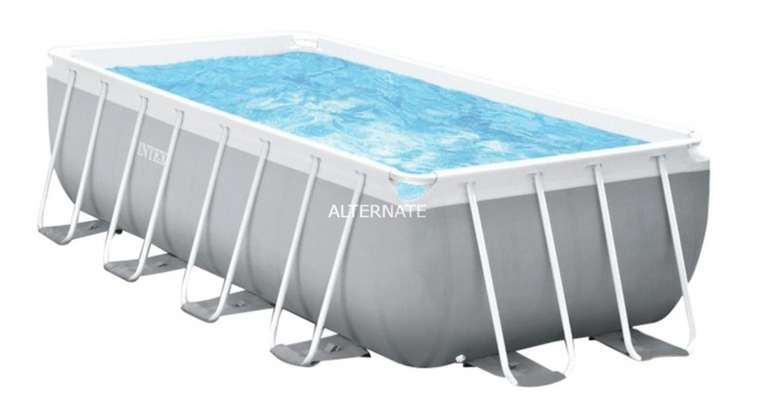 Intex Frame Pool Set Prism Rectangular (400 x 200 x 122 cm) für 655,99€inkl. Versand (statt 799€)