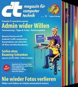 6 Ausgaben der Zeitschrift c't (Print oder Digital) für 20,40€ + Gutschein