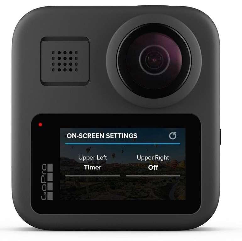 Bestpreis! GoPro MAX - wasserdichte 360° Action Cam mit 4K für 399€ (statt 471€)