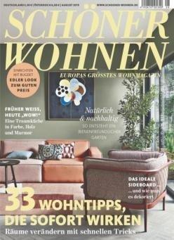 Schöner Wohnen im Jahresabo für 63,60€ + 50€ Gutschein für Amazon!