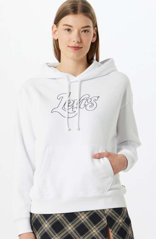 Levi's Sweatshirt Damen Dunkelblau / Weiß für 35,94€ inkl. Versand (statt 75€)